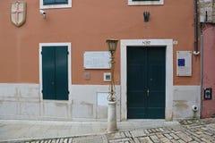 Centro de investigación histórico Rovinj Imágenes de archivo libres de regalías