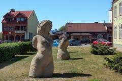 Centro de Jozefow, Polônia Fotos de Stock Royalty Free
