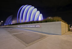 Centro de Kauffman para as artes de palco Foto de Stock