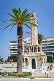 Centro de Konak, provincia de Esmirna de Turquía Fotografía de archivo libre de regalías