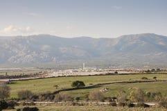 Centro de la cárcel de Soto del Real Imagen de archivo