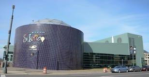 Centro de la ciencia de Detroit Michigan Foto de archivo