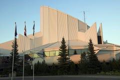 Centro de la ciencia de Edmonton imagen de archivo libre de regalías