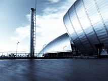 Centro de la ciencia de Glasgow en el muelle pacífico Imagenes de archivo