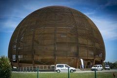 Centro de la ciencia de la CERN Imagen de archivo libre de regalías