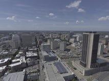 Centro de la ciudad aéreo Richmond imagen de archivo libre de regalías