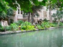 Centro de la ciudad agradable de San Antonio, Tejas Fotografía de archivo