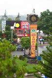 Centro de la ciudad de Dalat, Vietnam Fotos de archivo