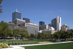 Centro de la ciudad de l ciudad Dallas Fotos de archivo libres de regalías