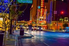 Centro de la ciudad de Las Vegas Fotografía de archivo libre de regalías