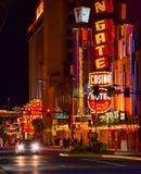 Centro de la ciudad de Las Vegas Fotografía de archivo