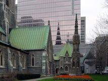 Centro de la ciudad de Montreal Fotografía de archivo libre de regalías