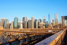 Centro de la ciudad de Nueva York Imágenes de archivo libres de regalías