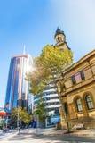Centro de la ciudad de Sydney Imagen de archivo libre de regalías