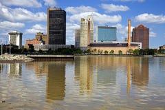 Centro de la ciudad de Toledo foto de archivo libre de regalías