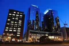 Centro de la ciudad en Boston, mA imagen de archivo