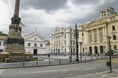 Centro de la ciudad hist?rico, SP el Brasil de Sao Paulo fotografía de archivo libre de regalías