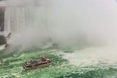 Centro de la ciudad de Niagara Falls, Ontario, Canadá foto de archivo