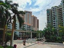 Centro de la ciudad de la ciudad de Shenzhen fotos de archivo