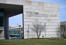 Centro de la constitución del preámbulo Imagen de archivo libre de regalías