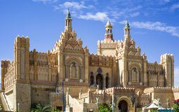 Centro de la diversión - ciudad de los reyes, Eilat, Israel Foto de archivo libre de regalías