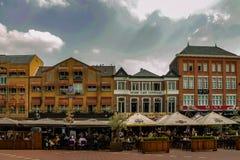 centro de la Eindhoven-tecnología y de concepción fotos de archivo