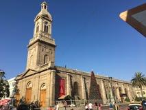 Centro de la Navidad de Serena Chile Fotos de archivo