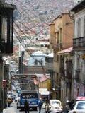 Centro de La Paz y x28; Bolivia& x29; Fotos de archivo libres de regalías