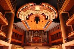 Centro de la sinfonía de Meyerson, hogar de Dallas Symphony Orchestra foto de archivo libre de regalías