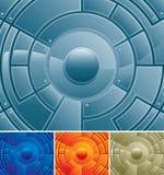 Centro de la tecnología ilustración del vector