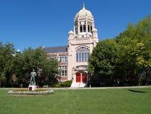 Centro de la universidad de Haas Imagen de archivo libre de regalías
