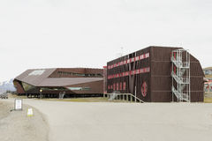 Centro de la universidad en Svalbard Fotografía de archivo