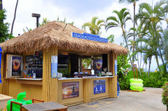 Centro de las actividades de la playa Imagen de archivo libre de regalías