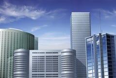 Centro de las finanzas de Hong-Kong Imagen de archivo libre de regalías