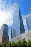 Centro de las finanzas en Nueva York fotos de archivo libres de regalías