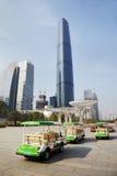 Centro de las finanzas internacionales de Guangzhou Imágenes de archivo libres de regalías