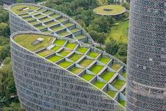 Centro de las finanzas internacionales de Tianfu en Chengdu - China imagenes de archivo