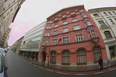 Centro de Ljubljana Imagen de archivo libre de regalías