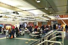 Centro de los acontecimientos deportivos de Nueva York Brooklyn del aviador fotos de archivo