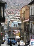 Centro de los angeles Paz & x28; Bolivia& x29; Zdjęcia Royalty Free
