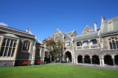 Centro de los artes de Christchurch imagen de archivo