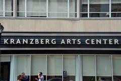 Centro de los artes de Kranzberg, St. Louis, Missouri fotografía de archivo