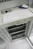centro de los servidores de comunicación Fotos de archivo