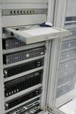 Centro de los servidores de comunicación Imagenes de archivo