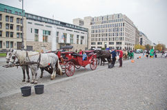 Centro de los visitantes, Berlín - Pariser Platz Fotos de archivo