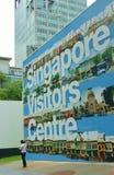 Centro de los visitantes de Singapur Fotos de archivo libres de regalías