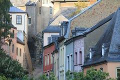 Centro de Luxemburgo Imagen de archivo libre de regalías