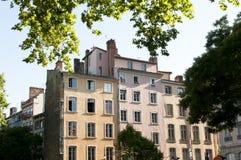 Centro de Lyon imagem de stock