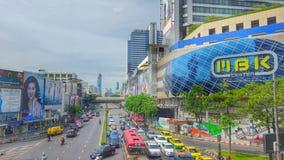 Centro de MBK, Bangkok, Tailandia Fotografía de archivo libre de regalías