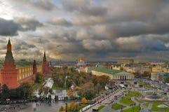 Centro de Moscú Imagen de archivo libre de regalías